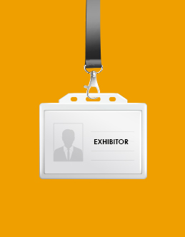 Register as an exhibitor now in a few easy steps